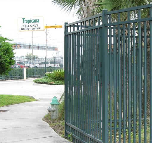 Industrial Fence Ideal Aluminum Products