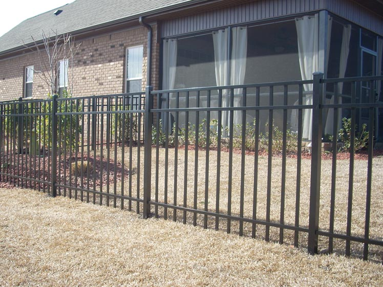Parkway Fence Ideal Aluminum Products