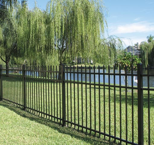 Residential Fence Ideal Aluminum Products